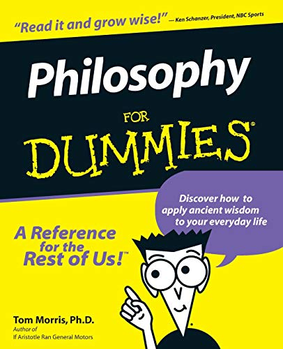 Philosophy For Dummies Book Cover Picture