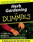 Herb Gardening For Dummies®