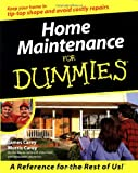 Home Maintenance for Dummies (For Dummies) by James Carey, James Morris