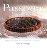 Passover Desserts by Penny W. Eisenberg