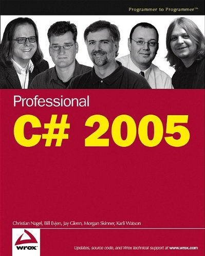 Professional C# 2005 (Wrox Professional Guides)