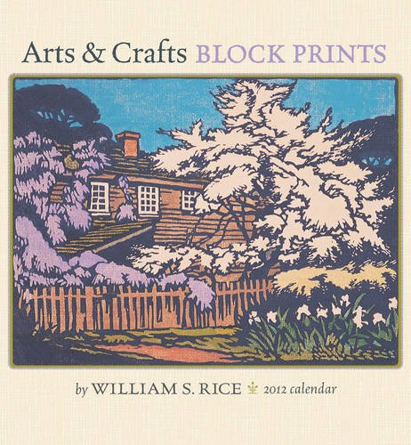 Arts & Crafts Prints 2012 Calendar