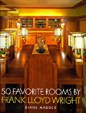 Fifty Favorite Rooms by Frank Lloyd Wright, book cover