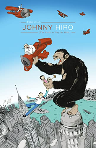 Johnny Hiro: The Skills to Pay the Bills cover