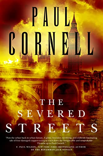 BOOK REVIEW: The Severed Streets by Paul Cornell