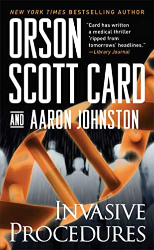 Invasive Procedures: A Novel, Card, Orson Scott; Johnston, Aaron