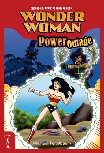Wonder Woman: Power Outage cover