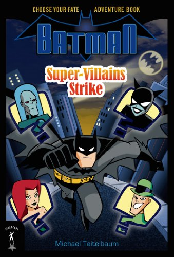 Batman: Super-Villains Strike cover