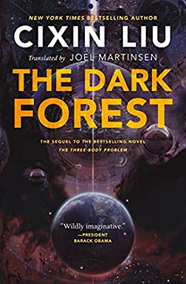 Cover & Synopsis: THE DARK FOREST by Cixin Liu