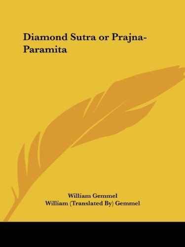 Diamond Sutra or Prajna-Paramita (1912)