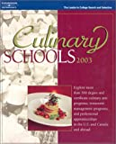 Peterson's Culinary Schools 2003 (Culinary Schools, 2003) by Petersons