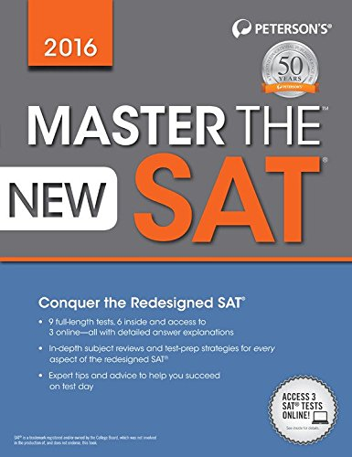 Master the new SAT®, 2016.
