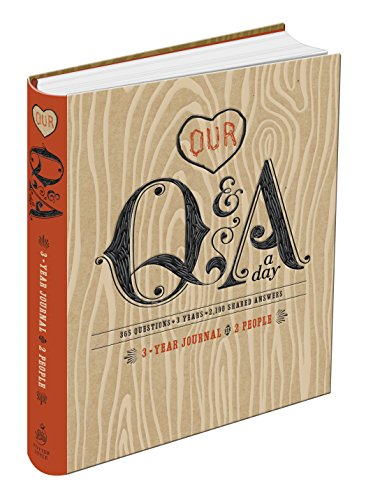 Our Q and A a Day: 3-Year Journal for 2 People - Potter Style