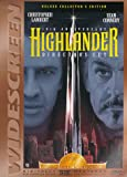 Highlander - movie DVD cover picture