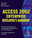 Access 2002 enterprise developer's handbook