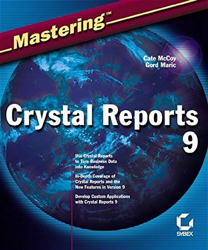 crystal report writer books Helpful crystal reports formulas :  if you are a report writer familiar with crystal, that you have gotten a request to develop a crystal report,.
