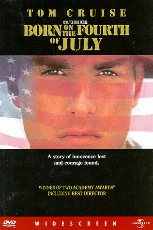 Born on the 4h of July, Tom Cruise