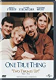 One True Thing - movie DVD cover picture