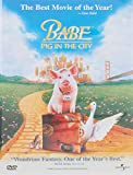 Babe - Pig in the City - movie DVD cover picture