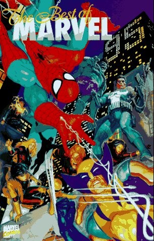 The Best Of Marvel 1995 Cover