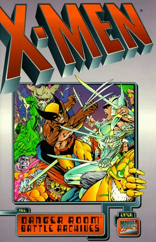X-Men: Danger Room Battle Archives Cover