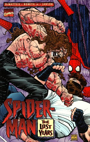 Spider-Man: The Lost Years Cover