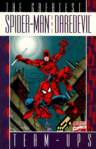 The Greatest Spider-Man And Daredevil Team-Ups Cover