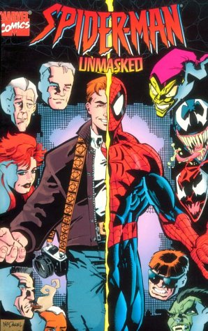 Spiderman Unmasked Cover