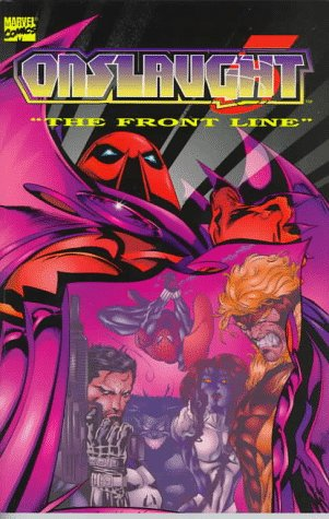 Onslaught Vol. 5: The Front Line Cover