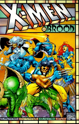 X-Men Vs. The Brood Cover