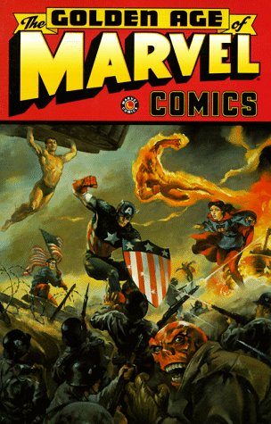 Golden Age Of Marvel Comics Vol. 1 Cover