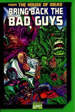 Bring Back The Bad Guys Cover