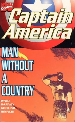 Captain America: Man Without A Country Cover