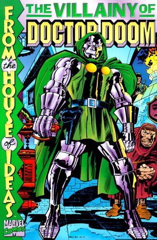 The Villainy Of Doctor Doom Cover