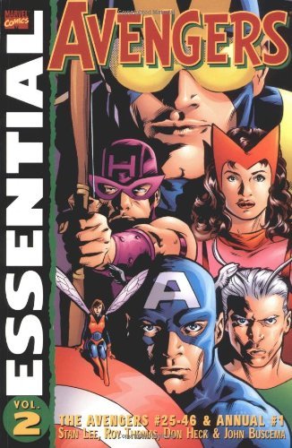 Essential Avengers Vol. 2 Cover