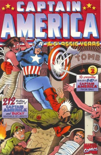 Captain America: The Classic Years Vol. 2 Cover