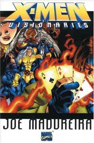 X-Men Visionaries: Joe Madureira Cover