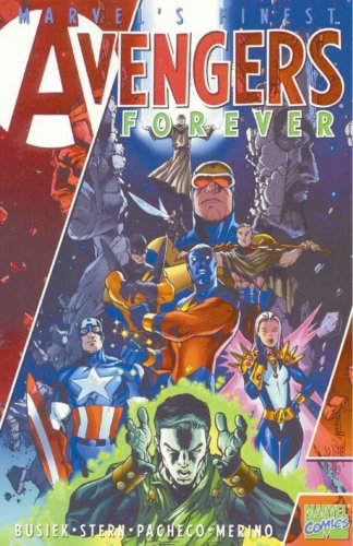 Avengers Legends Vol. 1: Avengers Forever Cover