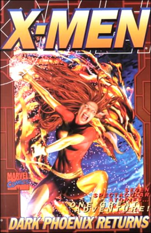 Backpack Marvels: X-Men: Dark Phoenix Returns Cover