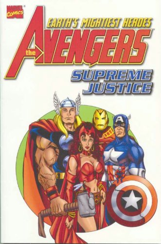 Avengers: Supreme Justice Cover