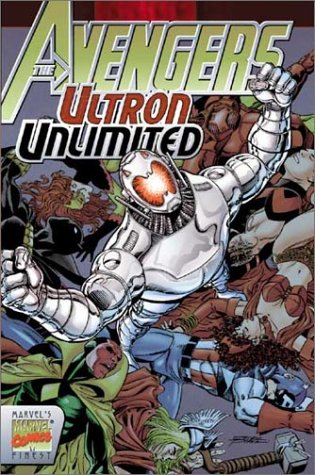 Avengers: Ultron Unlimited Cover