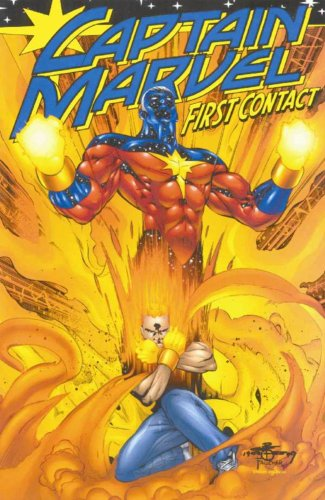 Captain Marvel: First Contact Cover