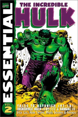 Essential Incredible Hulk Vol. 2 Cover