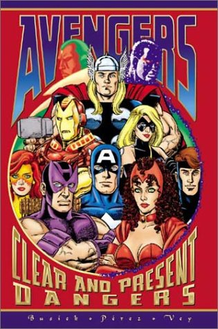 Avengers: Clear And Present Dangers Cover