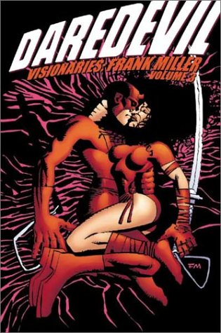 Daredevil Visionaries: Frank Miller Vol. 3 Cover