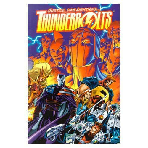 Thunderbolts: Justice Like Lightning Cover