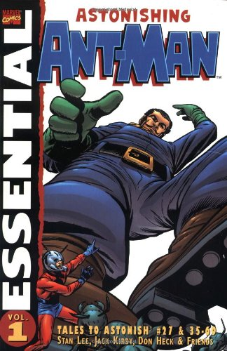 Essential Ant-Man cover
