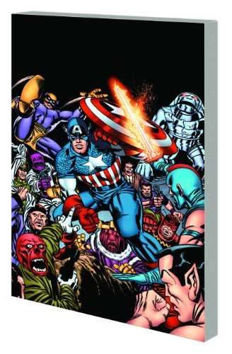 Essential Captain America Vol. 2  Cover
