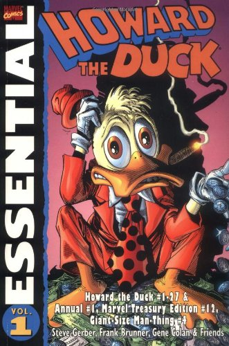 Essential Howard the Duck cover