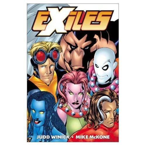 Exiles Vol. 1: Down The Rabbit Hole Cover